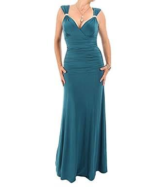 Blue Banana - Diamant-Maxi Kleid: Amazon.de: Bekleidung