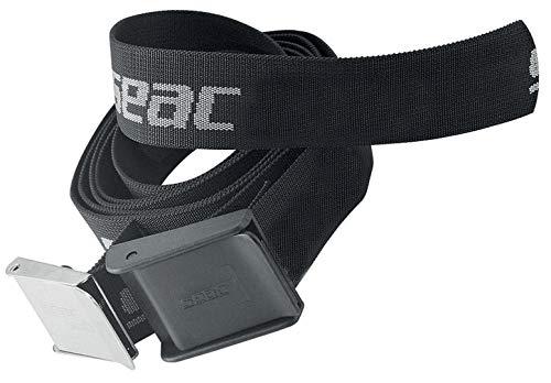 Seac Sub Cintura Gürtel, aus Blei bunt schwarz/Silber