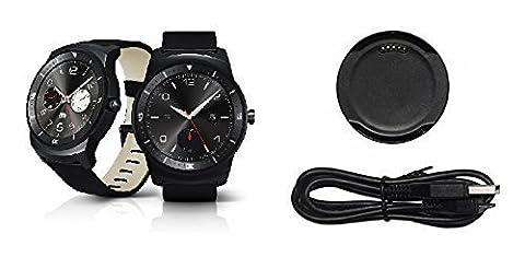 BlueBeach® recharge USB dock pour LG Watch G Watch R (Non Convient pour LG URBANE)