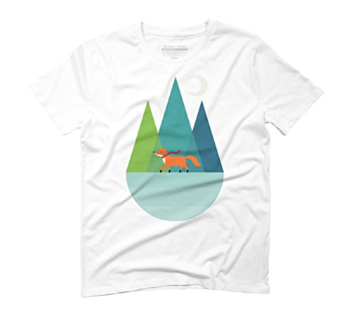 Winter Wish Men's Graphic T-Shirt - Design By Humans White