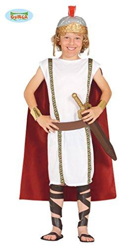 (Römer Legionär Soldat - Kostüm für Kinder Gr. 110 - 146, Größe:128/134)
