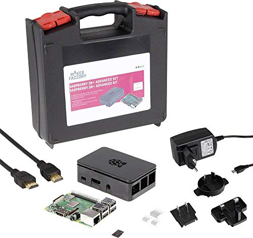 Preisvergleich Produktbild MAKERFACTORY Raspberry Pi® 3B+ Advanced Set