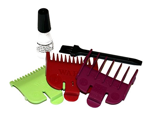 Wahl 3 Short Attachment Comb Set - for Wahl Super