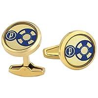 Police Rose Gold Stainless Steel Cufflinks For Men - PJ90075CSG/02