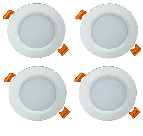 Citra BDBWUO 7-Watt LED Panel Light (Pack of 4, White)