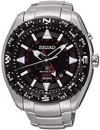 Seiko Reloj Analógico Seiko para Hombre con Correa de Acero Inoxidable –  SUN049P1 Metallizzato f1cafa8716cd