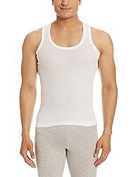Dollar Bigboss Mens Cotton Vest (8902889301211_MDVE-02-BB-DERBY-WHITE_80_White)