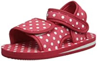 Playshoes Girls Dots Sandals 171785 Original 10.5 UK Child, 28 EU Regular