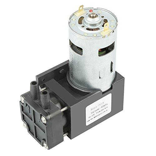 12V DC 42W Mini Öl-weniger -85kPa 40L / min Vakuumpumpe für Vakuum-Adsorptions-Automatisierungsgeräte, Vakuum-Verpackungsmaschinen usw.