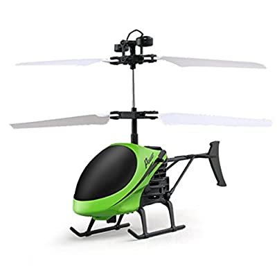 JIANGfu Kids Flying Helicopter Toy Helicoptnny Flyier Aircraft Flashing Infrared Toys Gift