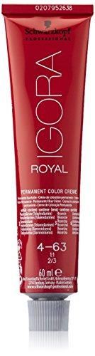 Schwarzkopf IGORA Royal Premium-Haarfarbe 4-63 mittelbraun schoko matt, 1er Pack (1 x 60 g) 63