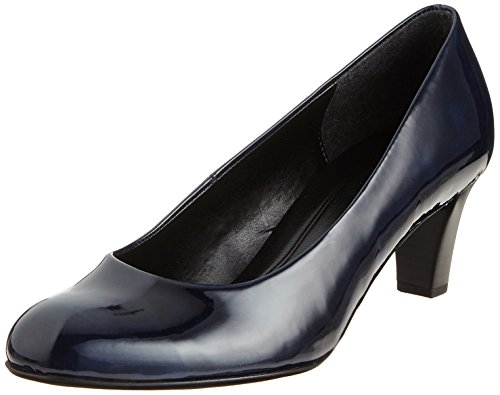 Gabor Shoes Damen Basic Pumps, Blau (Marine), 39 EU