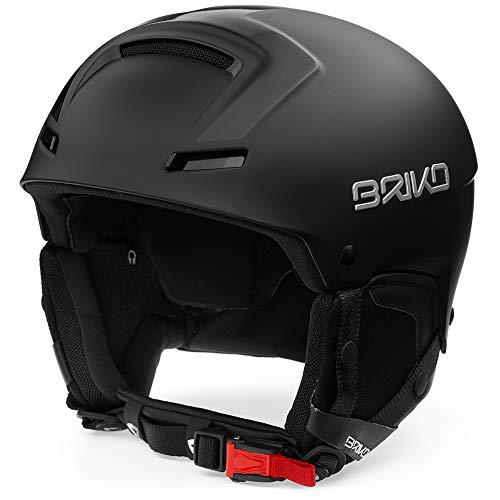 Briko faito, casco unisex - adulto, c02matt shiny black, xl