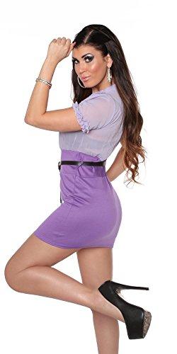 In-Stylefashion - Robe - Femme violet Violett L Violet