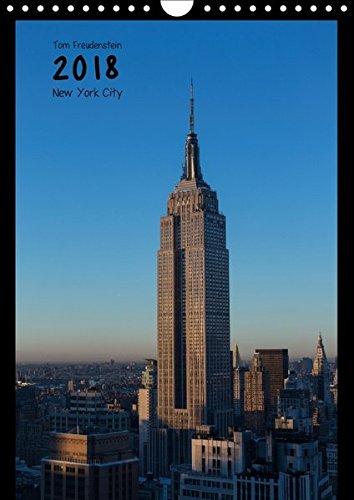 Vertical New York (Wandkalender 2018 DIN A4 hoch): Ansichten New Yorker Wolkenkratzer (Monatskalender, 14 Seiten ) (CALVENDO Orte) [Kalender] [Apr 01, 2017] Freudenstein, Tom
