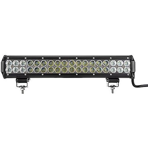 punicok Motorsports ajustable barra de luz LED CREE 108W 17