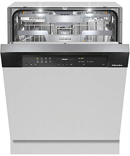 Miele G 7510 SCi AutoDos lavavajilla Totalmente integrado 14 cubiertos A+++ - Lavavajillas (Totalmente integrado, Gris, Tamaño completo (60 cm), Negro, Tocar, 1,7 m)