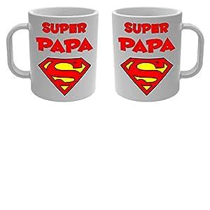 Yonacrea - Mug Tasse - Super Papa - Superman