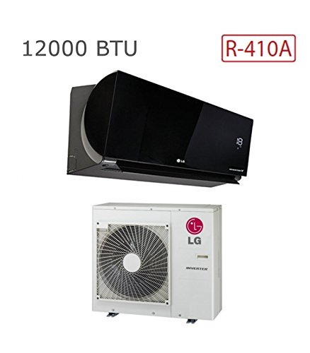LG LGLWKMONO004 Monosplit Artcool Slim 12000 R410A, Nero