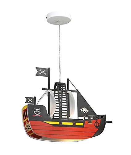 Suspension bateau Multicolore