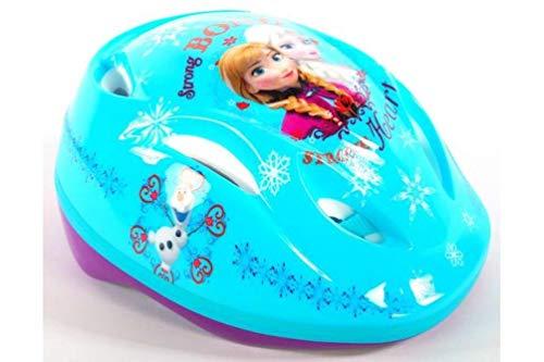 Frozen - Die Eiskönigin Disney Anna & ELSA Kinder Fahrrad-Helm Deluxe Gr. 51-55 cm
