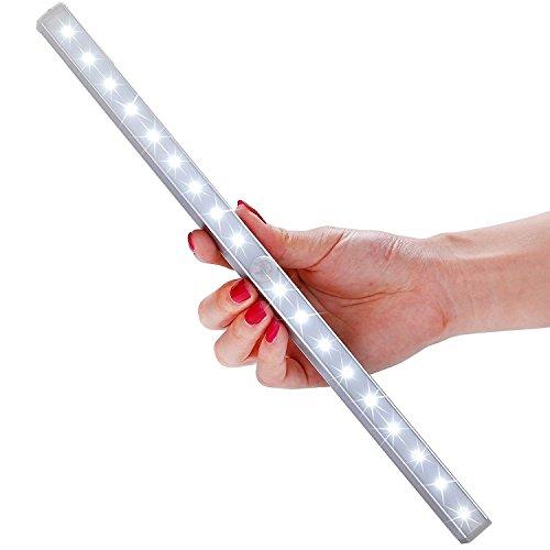 LOFTER Làmpara del Armario, Versión Nueva 18LEDs Lámpara con Sensor de Movimientos Inalámbrica Nocturna, 3 Modos de Luz