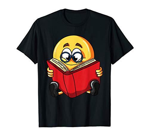 Lustige Nerd Kostüm - Emoji Lesebrille Nerd Lustige Halloween Kostüm Hemd