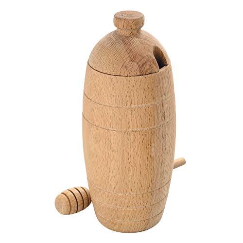 LAGUIOLE - POT A MIEL en bois de hêtre avec cuillère - bois d'hêtre - Marron clair