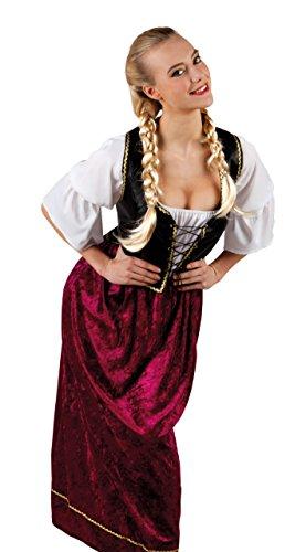Bier Kostüm Maid Aus (Boland 83832 - Erwachsenenkostüm Gaby,)