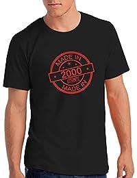 "Da Londra Mens Made In 2000"" 18th Birthday T Shirt Gift"