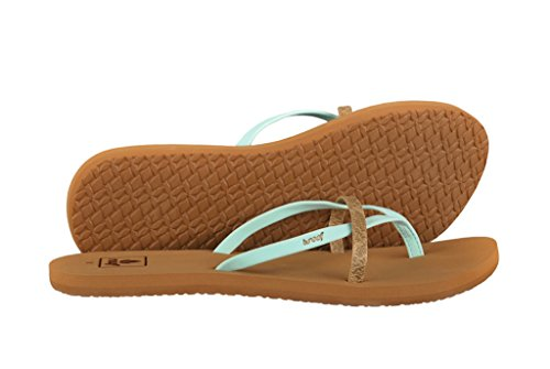 Reef Bliss Wild Zehentrenner Damen 8 US - 38.5 EU