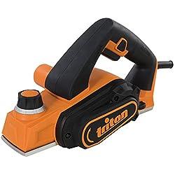 Triton 516283 TMNPL Rabot électrique compact 450 W, Multicolore, 60 mm