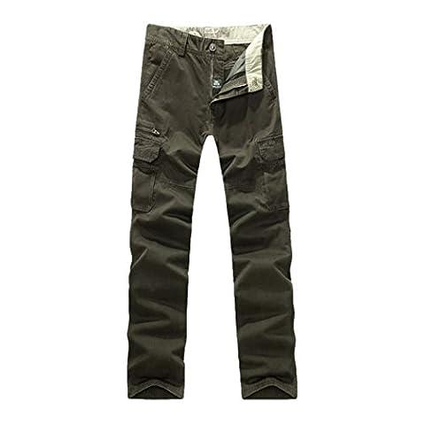 WALK-LEADER - Pantalon - Uni - Manches Longues - Homme - vert - X-Large