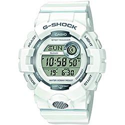 Casio Reloj Digital para Hombre de Cuarzo con Correa en Resina GBD-800-7ER, Blanco