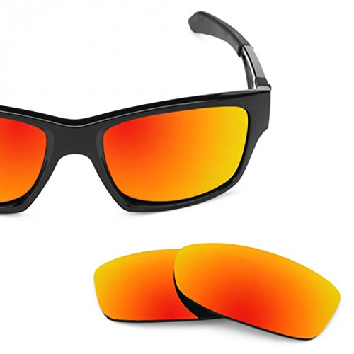 sunglasses restorer Basic Kompatibel Ersatzgläser Fire Iridium für Oakley Jupiter Squared