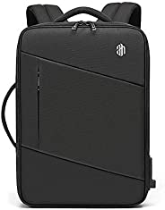 Travel Laptop Backpack Waterproof Business Work School College Bag Daypack with USB Charging&Headphone Por