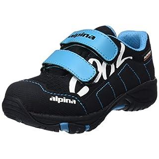 alpina Unisex-Kinder 680400 Trekking-& Wanderhalbschuhe Blau (5), 30 EU