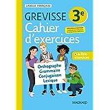 Cahier Grevisse - Français - 3e - Edition 2021