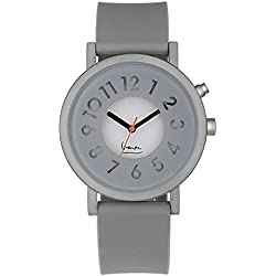 Projekte 6006G Unisex Grau Silikon Band Grau Zifferblatt Smart Watch