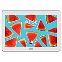 Lenovo TAB 4 10 Plus 25,654 cm (10,1 pulgadas) Tablet PC (Qualcomm Snapdragon Quad-core, Wi-Fi, Android 7.0, cámara de 8 MP/5MP/, Dolby Atmos)  4GB RAM + 64GB eMCP, color blanco