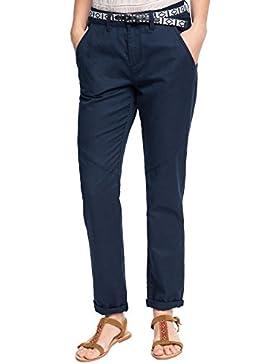 edc by Esprit Mit Leinen, Pantalones para Mujer