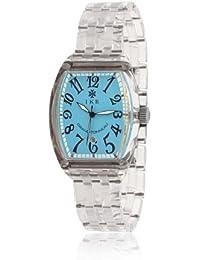 Ike GTO915 - Reloj con correa de caucho para hombre, color azul / gris