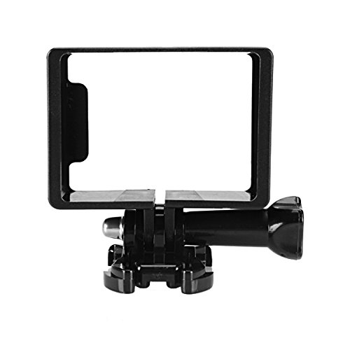 Price comparison product image FeLiCia Protective Housing Side Frame Mount for SJ5000 SJ5000 Wifi SJ5000 Plus SJ5000X Action Camera with Base Long Screws