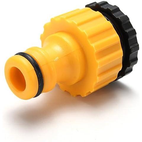 esperto filettato connettore del tubo flessibile adattatore per auto rubinetto di plastica