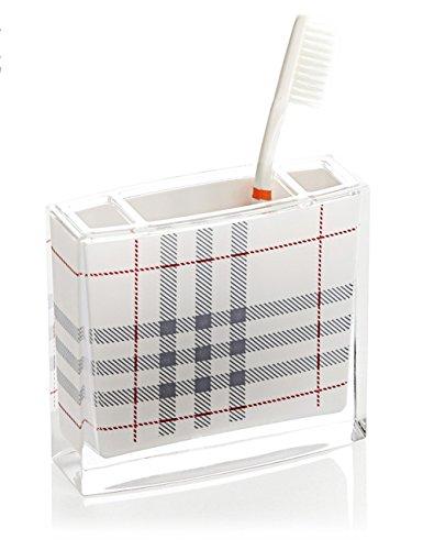 Accessoires de salle de bain en acrylique Porte brosse à dents Dentifrice crémaillère salle de bains Accessoires de salle de bain Creative ( couleur : 2 )