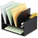 FITUEYES FITUEYES Schreibtisch Ablagesystem Dkumente Organizer aus Holz schwarz DO204001WB