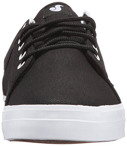 Baskets DVS: Aversa BK/WH Black Cordura