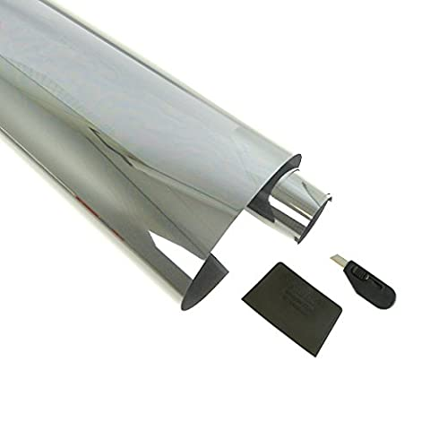XtremeAuto® SILVER, CAR/VAN 10%, Window Tint Film (300cm x 76cm)