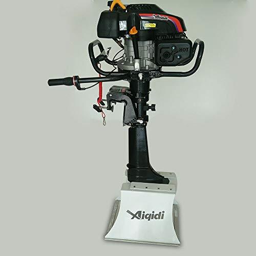 YUWW7 6 PS 4-Takt 173cc Außenbordmotor Bootsmotor Motoren Schlauchboot Benzinmotor CDI Engine Luftkühlung