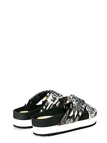 Desigual 74HSDF3 Sandalo Donna Black